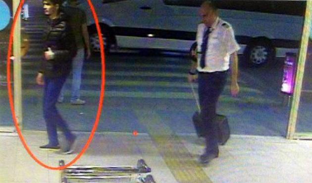 Saldırgan havalimanına böyle geldi
