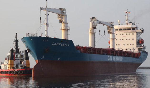 Gazze'ye yardım götürecek gemi Mersin Limanı'nda