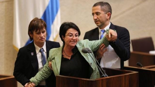 İsrail Meclisi'nde Mavi Marmara kavgası   VİDEO