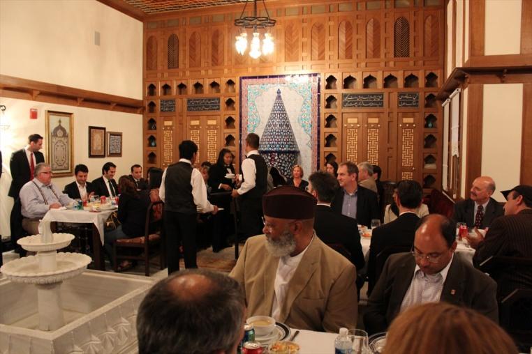 Türkiye'nin Washington Büyükelçiliğinden dini liderlere iftar