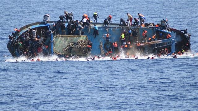 Sığınmacılara mezar olan gemi günyüzüne çıkarılacak