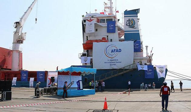 Gazze'ye yardım gemisi Filistin'e ulaştı