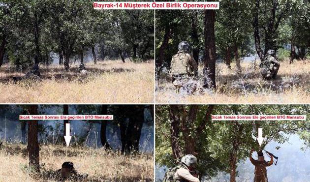 Lice'de çatışma; 2 PKK'lı öldü, 4'ü yakalandı