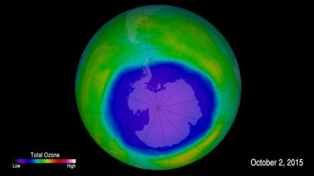 Ozon tabakasındaki delik Hindistan kadar küçüldü