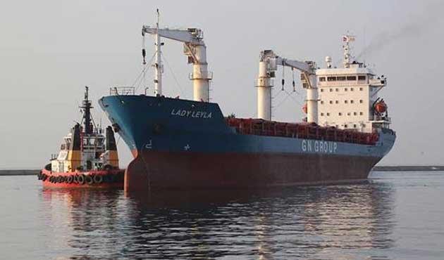 Gazze yardım gemisi Aşdod açıklarında