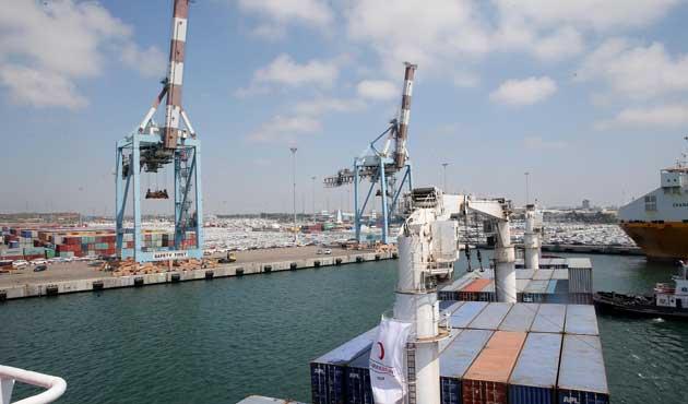 Gazze'ye yardım gemisi Aşdod Limanı'nda