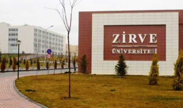 Zirve Üniversitesi'ne kayyum