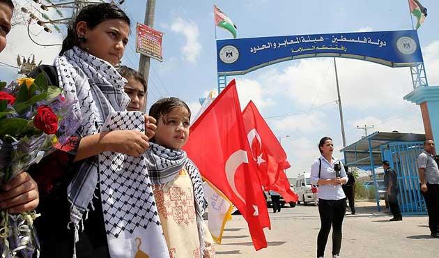 Türk yardım heyeti Gazze'de
