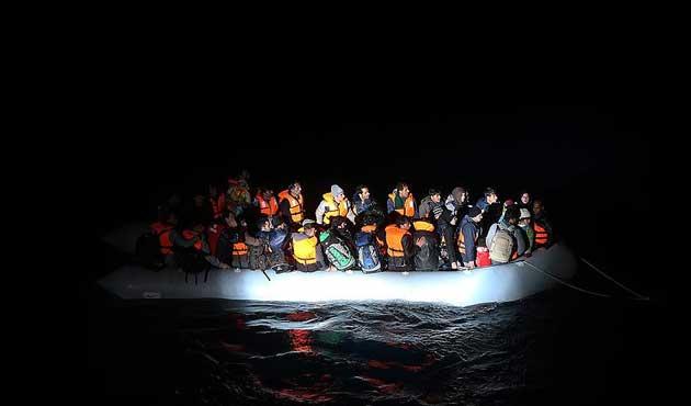 Ege Denizi'nde yasadışı geçişlerde büyük düşüş