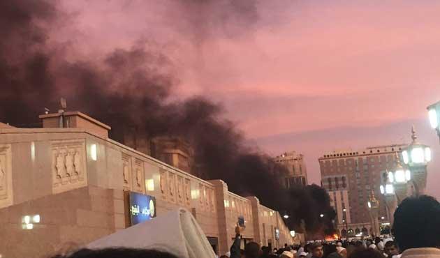 Medine'de şiddetli patlama: Dört asker öldü