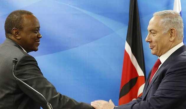 Netanyahu'dan Doğu Afrika seyahati