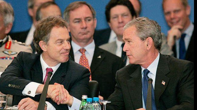 Blair ve Bush'un 'Saddam' planları ortaya çıktı
