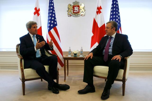 ABD Dışişleri Bakanı Kerry Gürcistan'da