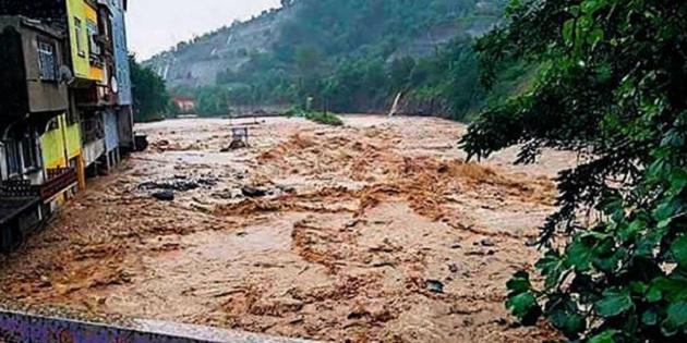 Ordu'da sel felaketi; 2 kişi öldü, 1 kayıp