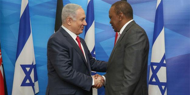 İsrail Başbakanı Netanyahu Etiyopya'da
