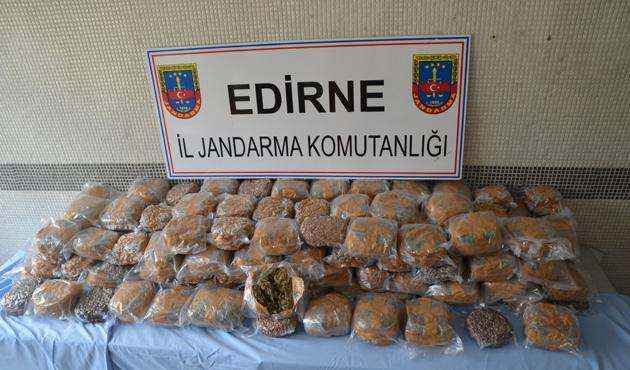 Edirne'de kokain operasyonu