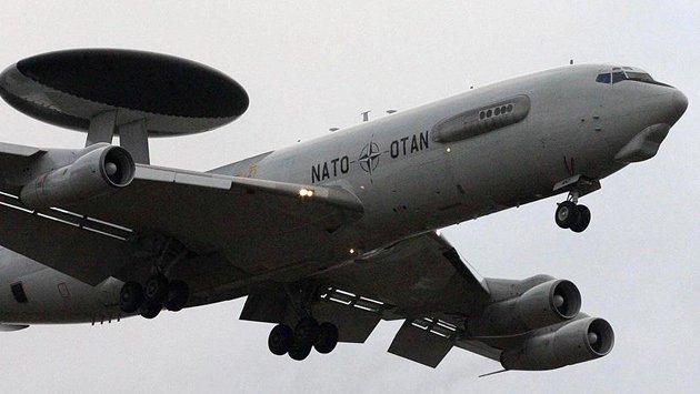 AWACS'lar IŞİD'e karşı Türk hava sahasında