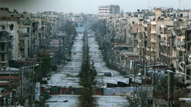 Halep'te insani kriz kapıda