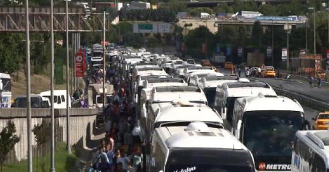 Bayramda otobüsler 10 milyon yolcu taşıdı