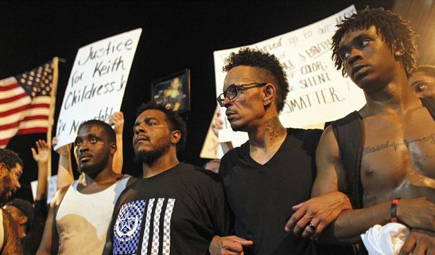 ABD'de siyah öfke sokaklarda | FOTO
