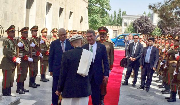 Carter'dan Afganistan'a sürpriz ziyaret