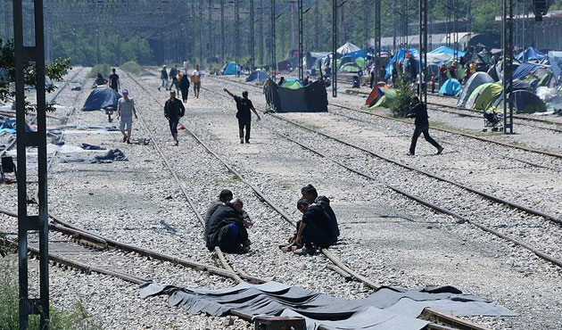 AB sığınmacıları 'yerleştiremedi'