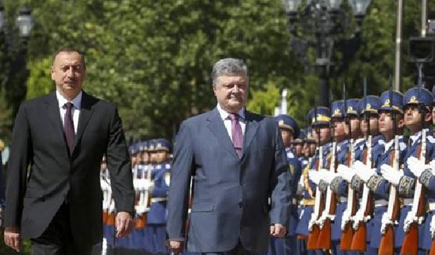 Ukrayna Cumhurbaşkanı Poroşenko, Bakü'de