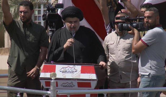Sadr yanlıları Bağdat'ta toplandı