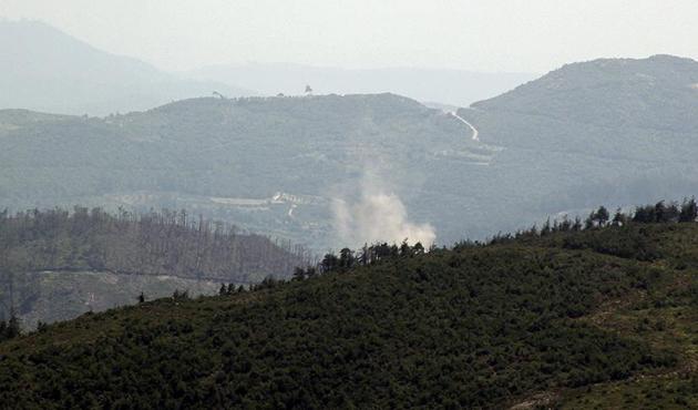 Esad güçleri Türkmendağı'na saldırdı