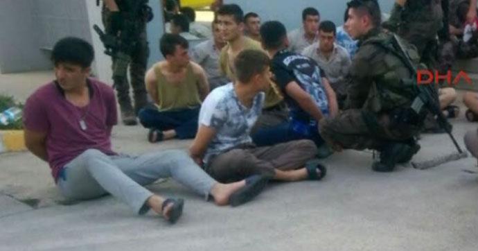 Sabiha Gökçen'de çatışma; 11 asker gözaltında