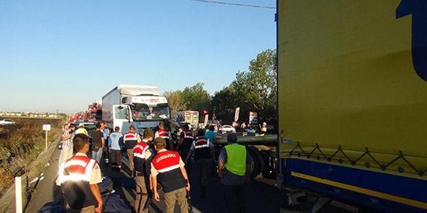 Tekirdağ'da feci kaza: 5 ölü