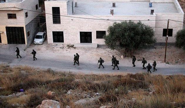 İsrail çocukları gözaltına aldı