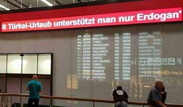 Viyana'da büyük tepki çeken yazı kaldırıldı