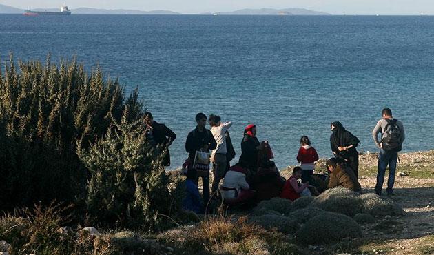 Ege'de göçmenler dört ay sonra artış gösterdi