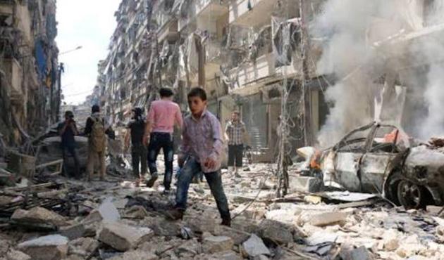 Halep'te ÖSO'nun karşı saldırısında 30 sivil öldü