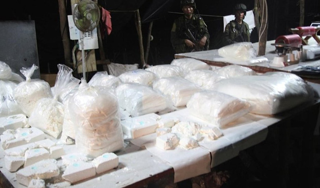 İskenderun'da 251 kilo kokain ele geçirildi