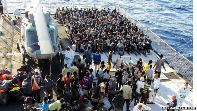 İtalya'yı göçmen korkusu sardı