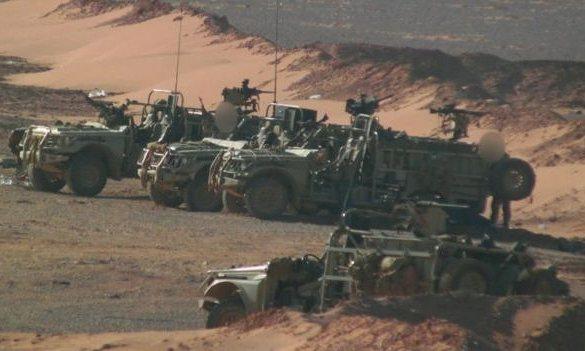 Suriye'deki İngiliz askerlerinin ilk görüntüleri