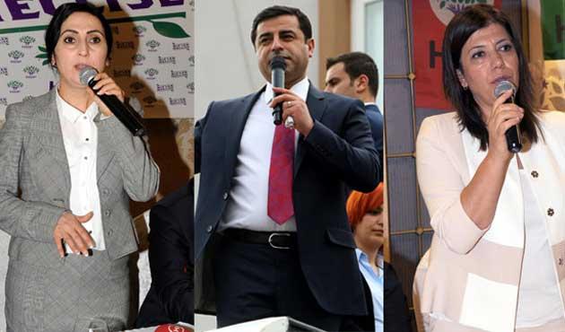 HDP'li üç vekil hakkında beş ayrı dava