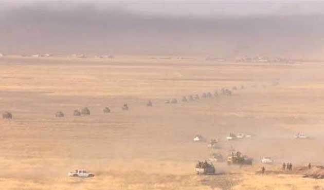Barzani komutasında IŞİD'e operasyon