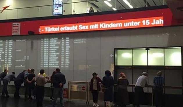 Viyana Havalimanı'nda ikinci skandal