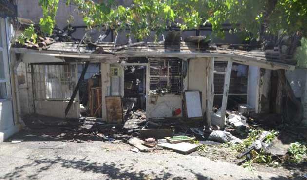 Bursa'da kuşçular hanı yandı, 600 kuş telef oldu