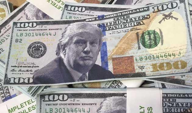 Trump'a Ukrayna'da para akıtılmış