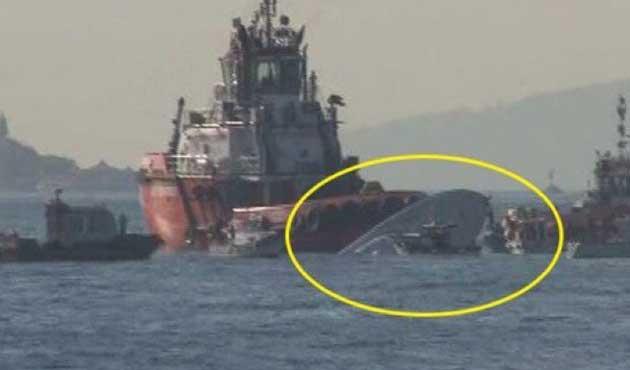 Sarayburnu'nda Sahil Güvenlik botu battı: Bir ölü
