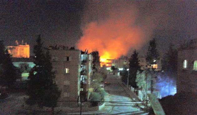 Esad, Haseke'yi ilk kez havadan vurdu