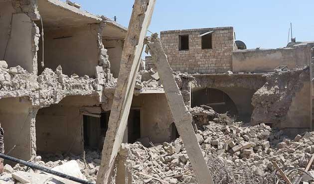 Rusya Halep'te sivilleri misket bombasıyla vurdu