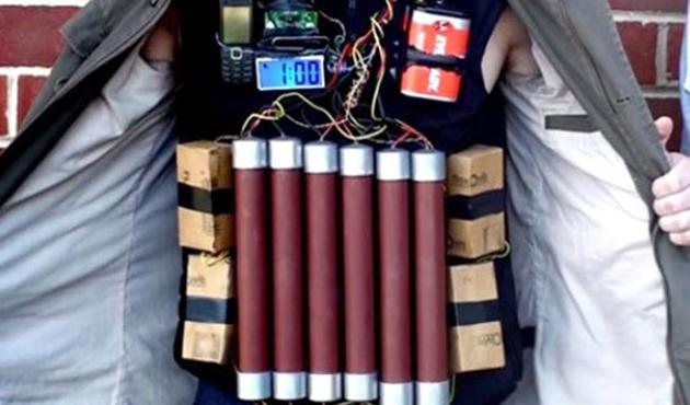 Irak'ta 'çocuk' canlı bomba son anda yakalandı