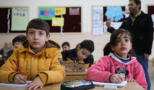 Sığınmacı çocuklar Yunanistan'da ders başı yapacak