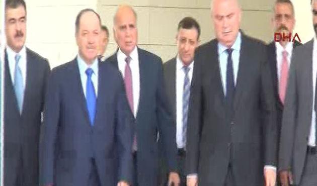 Mesut Barzani Türkiye'de