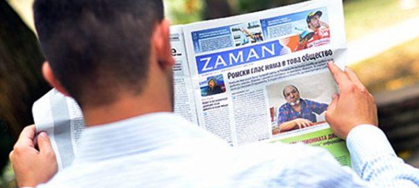Bulgaristan, Zaman gazetesini kapattı